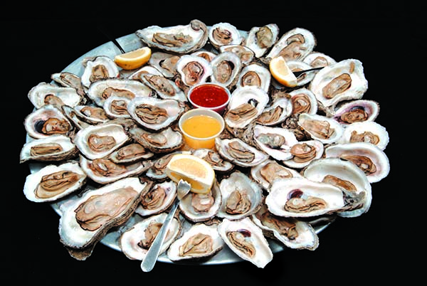 oyster platter from awful arthur's