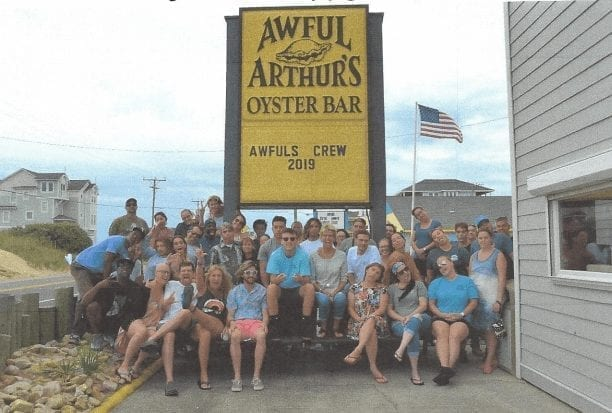 customers appreciation party awful arthur's