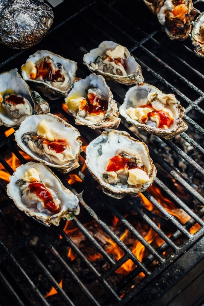 grilled oysters awful arthur's