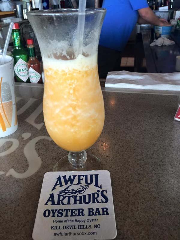 awful arthur's oyster bars slushy drink