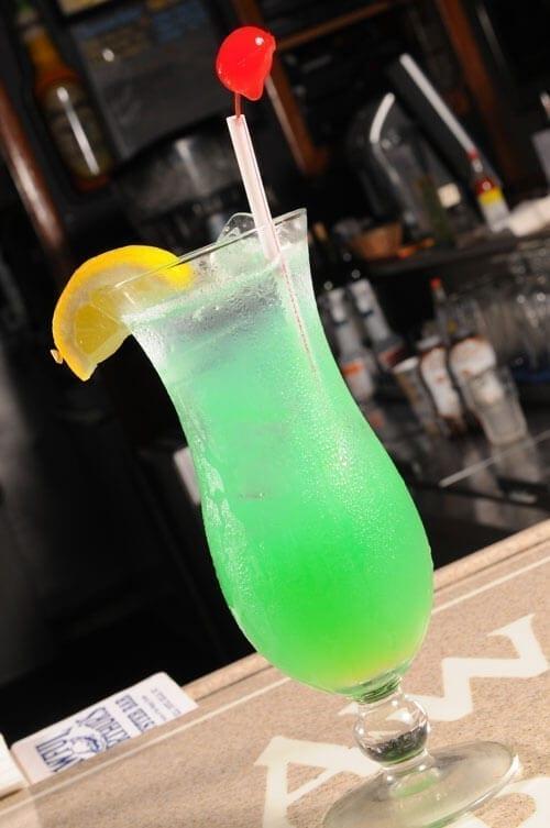 awful arthurs bar tropical drink