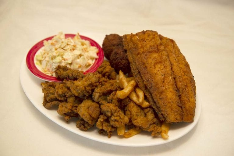 fried fish plate awful arthur's