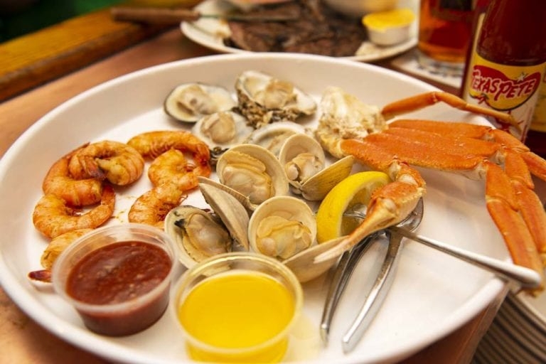 awful arthur's seafood tray