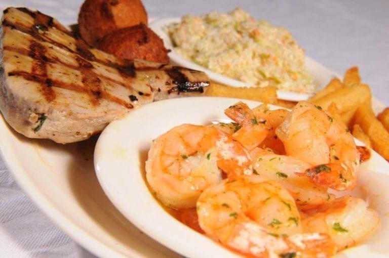 awful arthur's shrimp and pork chops